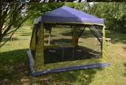 Дачный тент шатер с москитной сеткой ( 3, 2х3, 2х2, 4м.)